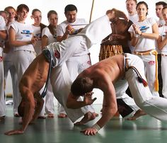 to: Capoeira Wrocław Dynamic Action, Dynamic Poses, Dojo, Elements Of Dance, Brazilian Martial Arts, Tai Chi, Contact Sport, Action Poses, Martial
