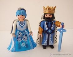 Playmobil Reyes del Hielo, fantasia, novios, medieval / Playmobil Ice Reyes, fantasy, boyfriends, medieval Medieval, Dani, Reyes, Harajuku, Pairs, Couples, The World, Childhood, Life