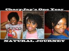 CharyJay's One Year Natural Hair Journey