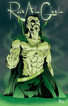 OK so I have a burning question that maybe someone can answer in regards to the old demon's head here. In TAS his name is pronounced (Ray-shh) Al Ghul, but in Nolan's trilogy he's pronounced (Ra-s)...