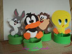 Centro de Mesa Baby Looney Tunes Eva