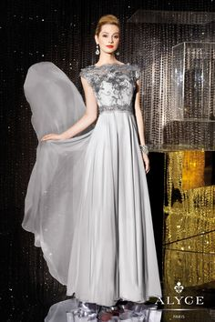 Evening DressesMother of the Bride Dresses by Jean De Lys for Alyce29654Classy Chiffon!