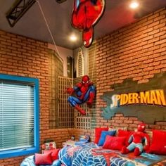 Superhero Rooms For Boys