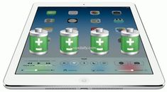 Extend the battery life of iPad Air with some simple settings adjustments