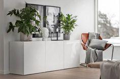 Inspiration for a scandinavian living room remodel in Stockholm Home Living Room, Interior Design Living Room, Living Room Scandinavian, Wall Decor Design, Ikea, Beautiful Interior Design, Living Room Remodel, Cool House Designs, Home Deco