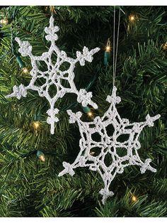 Crochet World Magazine. 5 ply cotton x Saved to Evernote/iBooks Snowflake Craft, Crochet Snowflakes, Crochet Stitches, Crochet Hooks, Crochet Afghans, Christmas Crochet Patterns, Comfort And Joy, Crochet World, All Holidays