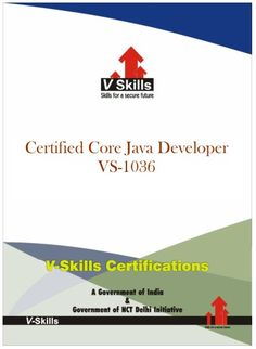 Vskills offering Certification in Java Developer