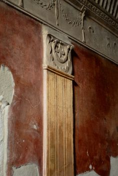 Pompeii plasterwork