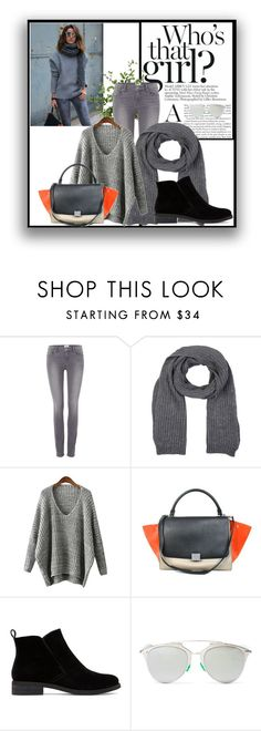 """""""Alexandra  Pereira"""" by salt-peper ❤ liked on Polyvore featuring Paige Denim, U.S. Polo Assn., CÉLINE, Lucky Brand, Christian Dior, Diane James, women's clothing, women's fashion, women and female"""