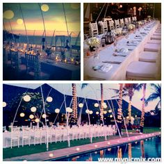 The wedding at Istana Bali ... surround by the sea