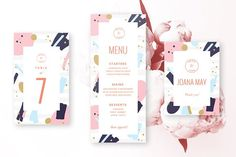 Elegance Wedding Bundle invites by Graphic Affair on