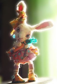 How adorable is this little rabbit? Very!!!