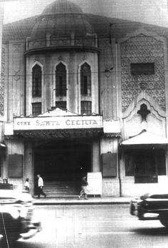 Cine Santa Cecília.