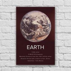Earth Canvas Art Print by Canvas Wall Art, Canvas Art Prints, Book Cover, Canvas, Painting, Art, Canvas Art