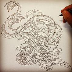 Japanese Phoenix Tattoo