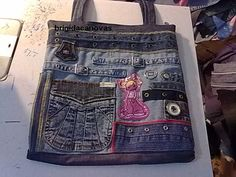 сумки из джинсов идеи 1