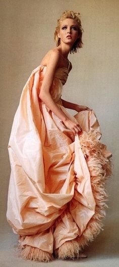 Peach Color Dresses | Peach dresses