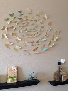 3D Butterfly Wall Art. by MonAmiePaperie on Etsy