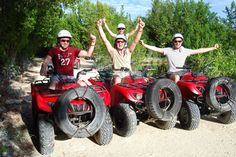 ATV tour of Cancun