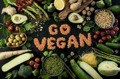 Here are our Top 10 Tips for Going Vegan. Whether you're going vegan for the animals, the planet, your health - or all three! Whole Foods, Whole Food Recipes, Diet Recipes, Vegan Recipes, Vegan Desserts, Delicious Recipes, Vegan Foods, Healthy Foods To Eat, Vegan Vegetarian