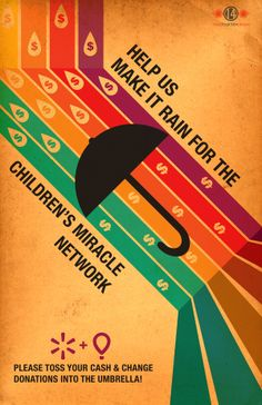 Children's Miracle Network Poster 2013 by Shawn Swope, via Behance