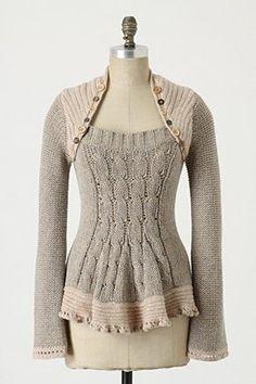 sweater refashion inspiration idea