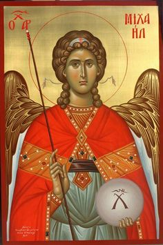 Apocalypse Work by Ekaterina Daineko, for icon planair in P Religious Icons, Religious Art, Christ The Good Shepherd, Russian Icons, Byzantine Icons, Archangel Michael, Guardian Angels, Art Icon, Orthodox Icons
