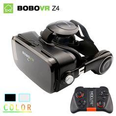 Original bobovr z4/mini virtual reality brille 3d vr gläser google karton bobo vr box 2,0 headset für 4,0-6,0 zoll telefon