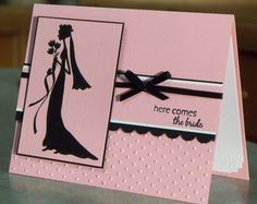 stampinup+a+million+in+one+rubberstamp+set+ideas | Handmade Bridal Shower Card using Stampin Up She's All That