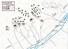 Battle of Omdurman:the Second Dervish Attack and the Charge of the 21st Lancers; map by John Fawkes