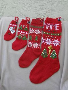 Christmas Stockings for You and Your Doll