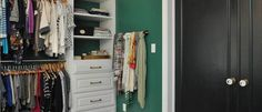 Get inspired by Eclectic Closet Design photo by Niki Landry Designs, LLC. Wayfair lets you find the designer products in the photo and get ideas from thousands of other Eclectic Closet Design photos. Closet Lighting, Closet Organization, Organization Ideas, Scarf Design, Room Doors, House Layouts, Home Hacks, Creative Home, Decorating Tips