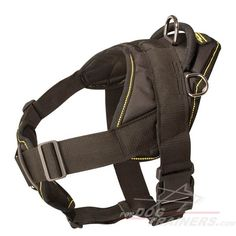 Multifunctional #Dog #Nylon #Harness with Comfortable chest $49.90 | www.fordogtrainers.com