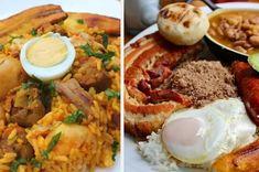 16 Deliciosas recetas de comida colombiana que puedes hacer en casa Colombian Food, Colombian Recipes, Deli Food, Pozole, Pan Dulce, Falafel, Naan, What To Cook, Soups
