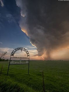 Welcome to Era - A dying supercell thunderstorm takes its last gasps of breath near the small northern Texas town of Era. This storm was a beautifully structured supercell through most of it's life-cycle, all the way up to its death.