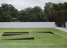 Robert Irwin, Tilted Planes, 1999. The Rachofsky House, Dallas. Image via Flickr…