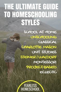The Ultimate Guide to Homeschooling Styles, from Fearless Homeschool. A thorough introduction to nine of the most popular homeschooling methods. Covers Charlotte Mason, unschooling, Waldorf and more! Reggio, Tangram, How To Start Homeschooling, Online Homeschooling, Catholic Homeschooling, Home Schooling, Homeschool Curriculum, Homeschool Kindergarten, Kids Education