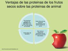 Ventajas de las proteinas de los frutos secos sobre las proteinas de animal               No presentan                prod...