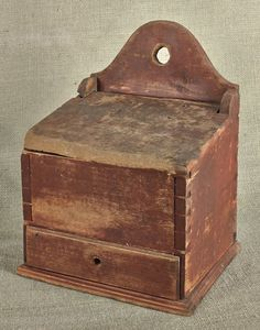 Cheap Sale Vintage Antiqued Wooden Box Trug Alice Box Attractive Appearance Crate
