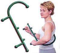 Hand Thera Cane Trigger Point Therapy Tool works great for those hard to reach places