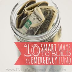 Financial Guidance >> 10 Smart Ways to Build an Emergency Fund | How to Pay Off Debt #