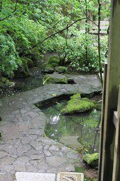 Japanese Gardens  Portland OR