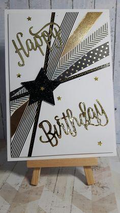 Best Birthday Quotes : (notitle) Man Birthday Cards, Scrapbook Birthday Cards, Homemade Birthday Cards, Cricut Birthday Cards, Scrapbook Cards, Male Birthday Wishes, Happy Birthday Invitation Card, Birthday Quotes, Simple Birthday Cards