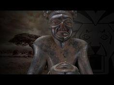 41cm Handgeschnitzt Alte Afrikanische Statue