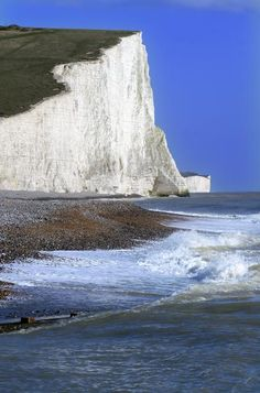 3 Pictures taken at Cuckmere Haven, East Sussex on 9th March 2007.  The pictures show the Seven Sisters Cliffs and are taken looking towards Eastbourne