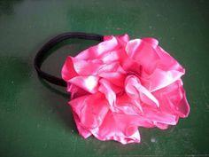 Flores de tela hechas a mano! broches,vinchas,prendedores y anillos - Montevideo - Productos prontos - Artesanía
