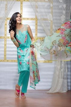 Nishat Linen Introducing Latest Eid Collection 2016 | PK Vogue