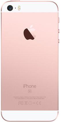 iPhone SE 16 GB Oro rosa, precios y ofertas del teléfono móvil | Yoigo.