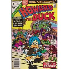 HOWARD THE DUCK ANNUAL #1 | 1976-1979, 1986 | VOLUME 1 | MARVEL | $15.00