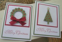 Punchy Christmas by calmag - Cards and Paper Crafts at Splitcoaststampers
